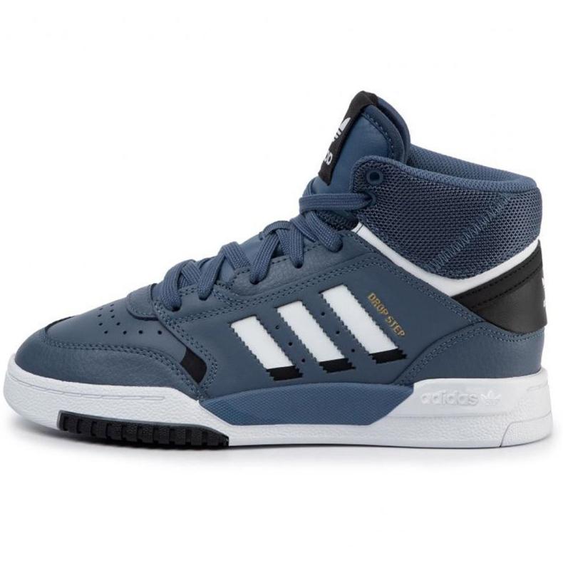 Buty adidas Originals Drop Step Jr EE8757 granatowe