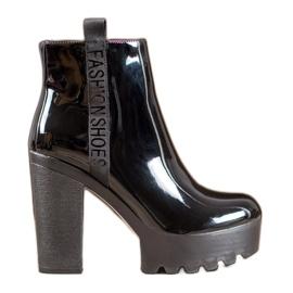 Seastar Lakierowane Botki Fashion czarne