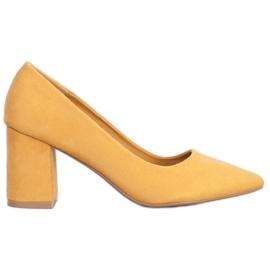 Seastar Eleganckie Czółenka żółte