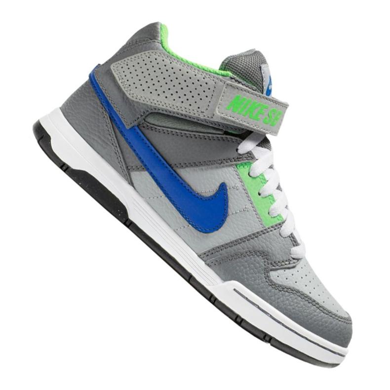 Buty Nike Jr Sb Mogan Mid 2 Gs Jr 645025-044 szare wielokolorowe
