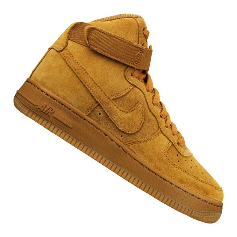 Buty Nike Jr Air Force 1 High Lv 8 Gs Jr 807617-701 żółte