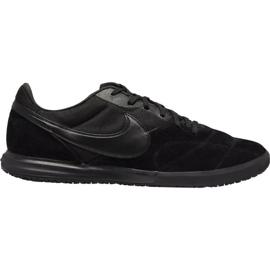 Buty piłkarskie Nike Premier Ii Sala M Ic AV3153 011 czarny czarne