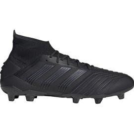 Buty piłkarskie adidas Predator 19.1 Fg M czarny czarne