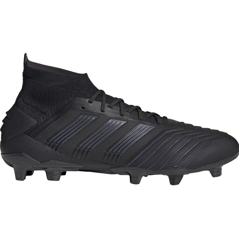 Buty piłkarskie adidas Predator 19.1 Fg M czarne czarne