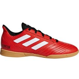 Buty piłkarskie adidas Predator Tango 18.4 Sala Jr DB2343 czerwone