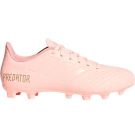 Buty piłkarskie adidas Predator 18.4 M FxG DB2008 różowy różowe