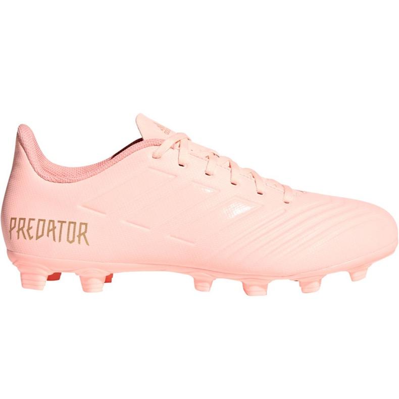 Buty piłkarskie adidas Predator 18.4 M FxG DB2008 różowe różowy