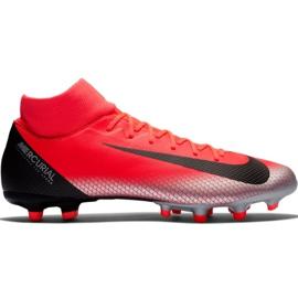 Buty piłkarskie Nike Mercurial Superfly 6 Academy CR7 Mg M AJ3541 600 czarny, pomarańczowy czerwone