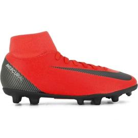 Buty piłkarskie Nike Mercurial Superfly 6 Club CR7 Mg M AJ3545 600 czarny, pomarańczowy czerwone