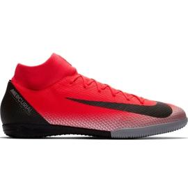 Buty piłkarskie Nike Mercurial Superfly X 6 Academy CR7 Ic M AJ3567 600 czarny, pomarańczowy