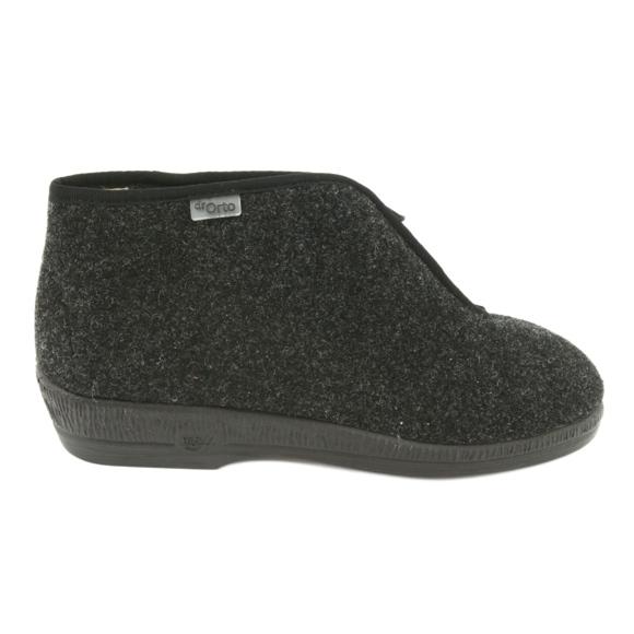 Befado obuwie damskie pu 041D048 brązowe