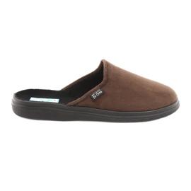 Befado obuwie męskie  pu 125M008 brązowe