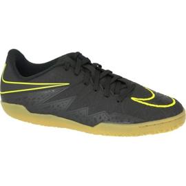 Buty halowe Nike Hypervenomx Phelon Ii Ic Jr 749920-009 czarny czarne