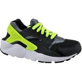Buty Nike Huarache Run Gs W 654275-017 czarne żółte