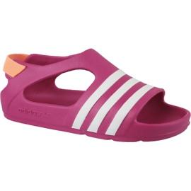 Sandały adidas Adilette Play I Jr B25030 różowe