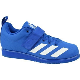 Buty adidas Powerlift 4 M BC0345 niebieskie