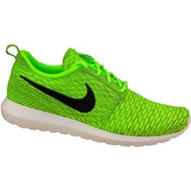 Buty Nike Roshe Nm Flyknit M 677243-700 zielone