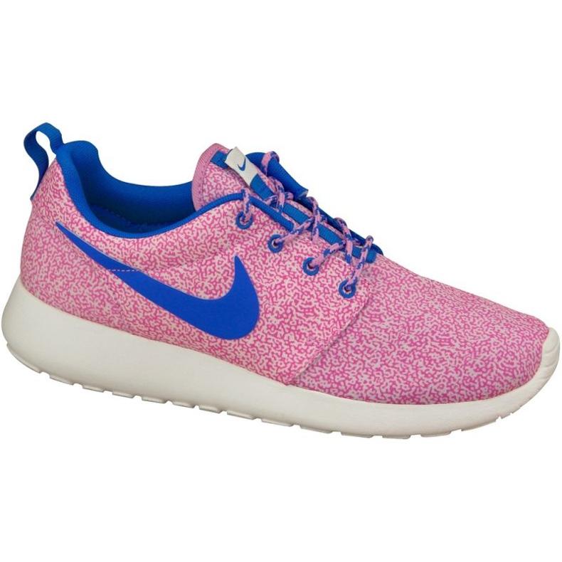 Buty Nike Rosherun Print W 599432-137 różowe