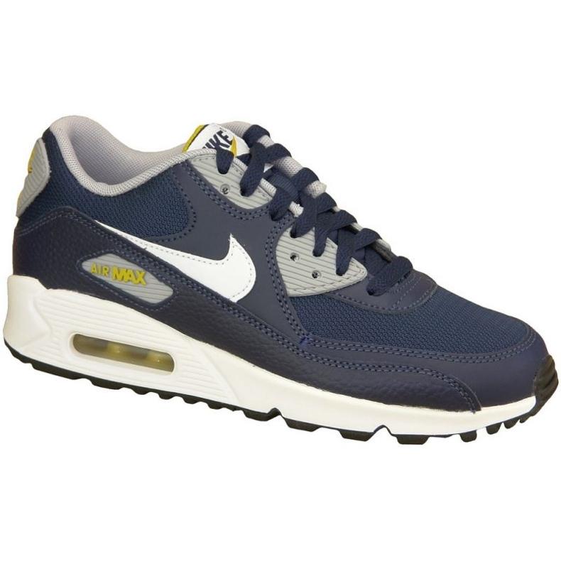 Buty Nike Air Max 90 Gs W 307793-417 granatowe