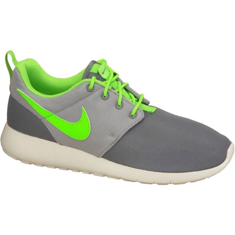 Buty Nike Roshe One Gs W 599728-025 szare zielone