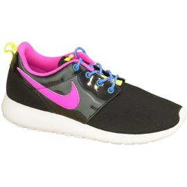 Buty Nike Roshe One Gs W 599729-011 czarne różowe wielokolorowe