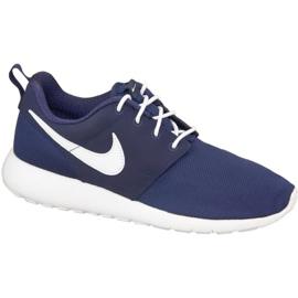 Buty Nike Roshe One Gs W 599728-416 białe granatowe