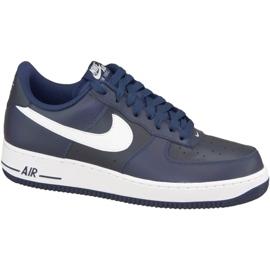 Buty Nike Air Force 1' 07 M 488298-436 granatowe