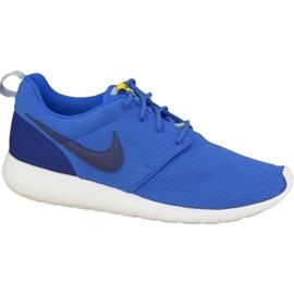 Buty Nike Roshe One Gs W 599728-417 niebieskie
