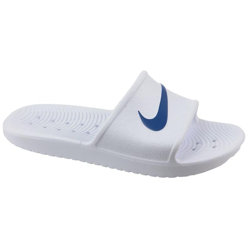 Klapki Nike Kawa Shower 832655-100 białe