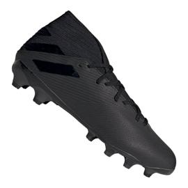 Buty adidas Nemeziz 19.3 Mg M EF8874 czarne czarny
