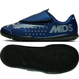 Buty halowe Nike Mercurial Vapor 13 Club Mds Ic PS(V) Jr CJ1176-401 granatowy