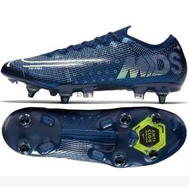 Buty piłkarskie Nike Mercurial Vapor 13 Elite Mds SG-Pro Ac M CK2032-401 granatowe