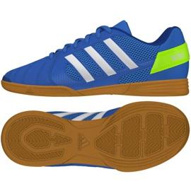 Buty halowe adidas Top Sala Jr FV2632 niebieski niebieskie