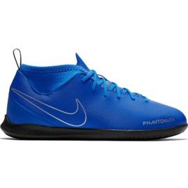 Buty piłkarskie Nike Phantom Vsn Club Df Ic Jr AO3293 400 niebieskie