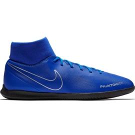 Buty piłkarskie Nike Phantom Vsn Club Df Ic M AO3271 400 niebieski niebieskie