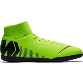 Buty piłkarskie Nike Mercurial Superfly X 6 Club Ic M AH7371 701 zielone