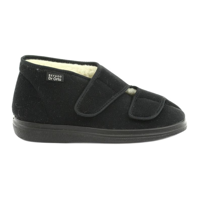 Befado obuwie damskie  pu 986D011 czarne