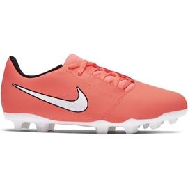 Buty piłkarskie Nike Phantom Venom Club Fg Jr AO0396-810 pomarańczowy pomarańczowe