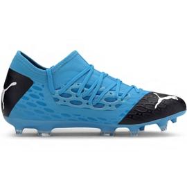 Buty piłkarskie Puma Future 5.3 Netfit Fg Ag M 105756 01 niebieski niebieskie