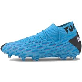 Buty piłkarskie Puma Future 5.1 Netfit Fg Ag M 105755 01 niebieskie