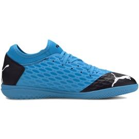 Buty halowe Puma Future 5.4 It M 105804 01 niebieski niebieskie