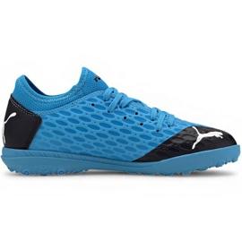 Buty piłkarskie Puma Future 5.4 Tt Jr 105813 01 niebieskie