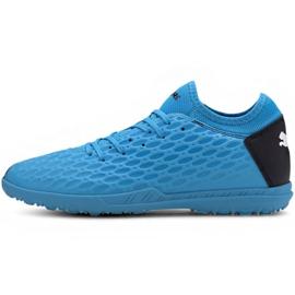 Buty piłkarskie Puma Future 5.4 Tt M 105803 01 niebieski niebieskie