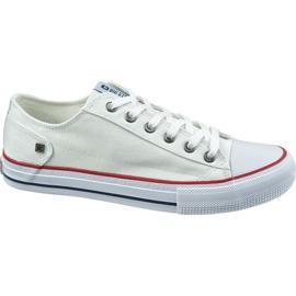 Buty Big Star Shoes W DD274336 białe