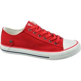 Buty Big Star Shoes W DD274339 czerwone