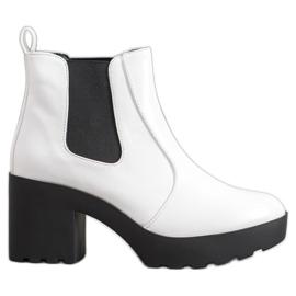 Weide Sztyblety Fashion białe