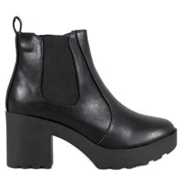 Weide Sztyblety Fashion czarne