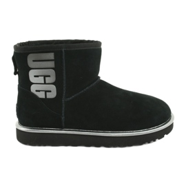 Buty Ugg Classic Mini Ugg Rubber Logo W 1110087-BMT
