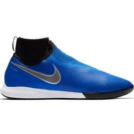 Buty piłkarskie Nike React Phantom Vsn Pro Df Ic M AO3276 400 niebieskie