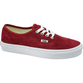 Buty Vans Authentic W VN0A38EMU5M1 czerwone